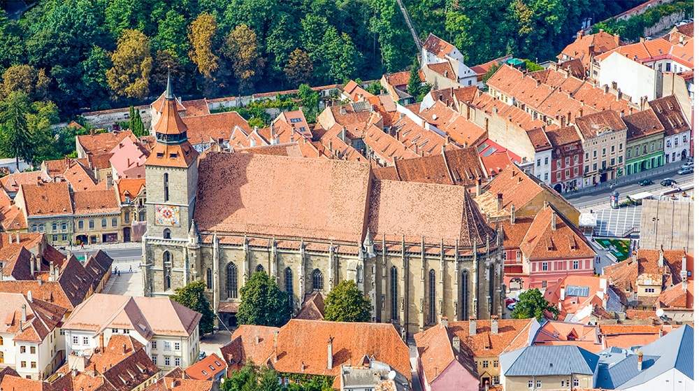 Luftaufnahme Altstadt Darmstadt