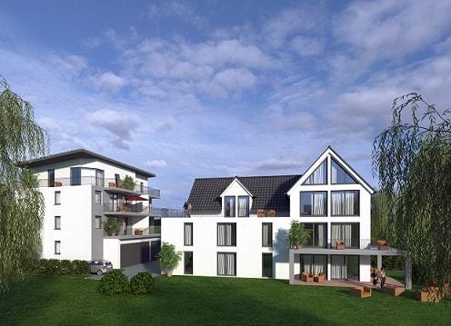 Mehrfamilienhäuser Dexturis-Bau Obertshausen