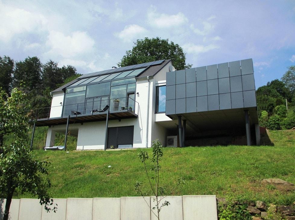 Einfamilienhaus Dexturis-Bau Aschaffenburg