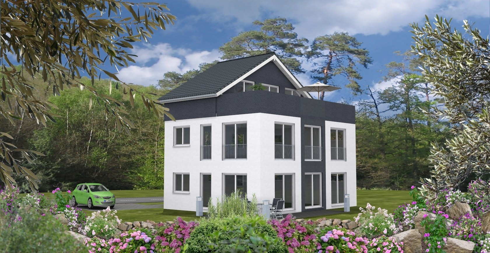 Einfamilienhaus Dexturis-Bau Kahl am Main