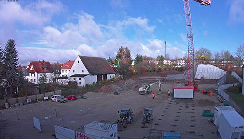 Baufortschritt Pflegezentrum Liebfrauenhaus