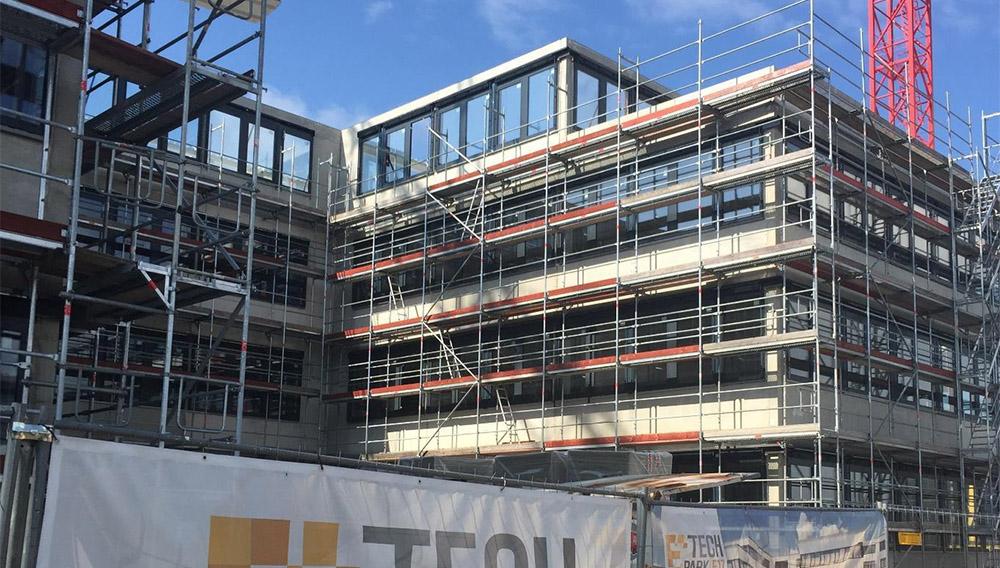 Bürogebäude Erlangen Baufortschritt