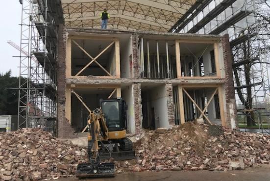 Cube offices 574 Leverkusen Baufortschritt