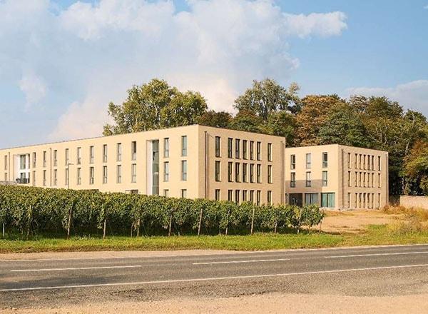Baufortschritt Studentenwohnheim Rheingau 2