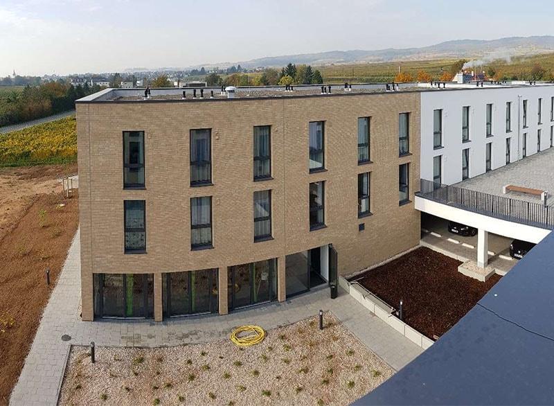 Baufortschritt Studentenwohnheim Rheingau 3