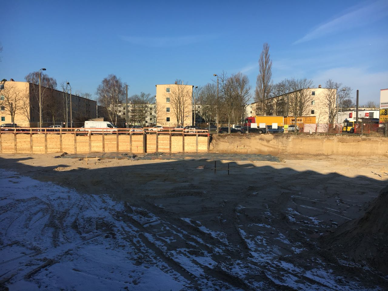 Baustellenbild Wohnen im Märchenviertel 1