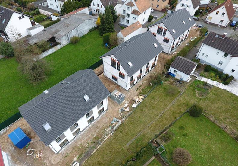 """Bautenstand """"Wohnen im Village 11"""" April 2018 1"""