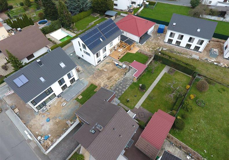 """Bautenstand """"Wohnen im Village 11"""" April 2018 2"""