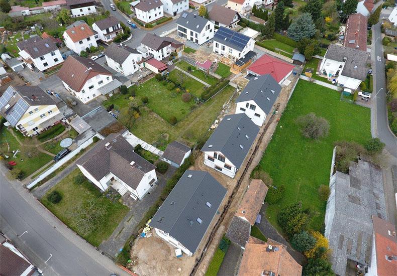 """Bautenstand """"Wohnen im Village 11"""" April 2018 3"""