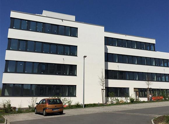 Bürogebäude Erlangen Fassade