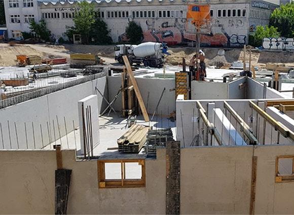 Baustellenbild Wohnen im Märchenviertel Mai 4