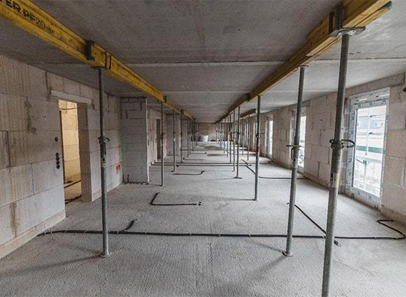 Bautenstand Studentenwohnheim Düsseldorf Mai 2018