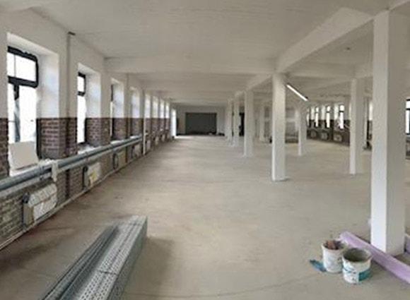 Innenbereich Cube offices 574 Leverkusen Mai 2018