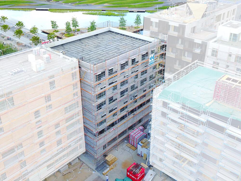 Baustelle Studentenapartments Heilbronn Juli 2018 2