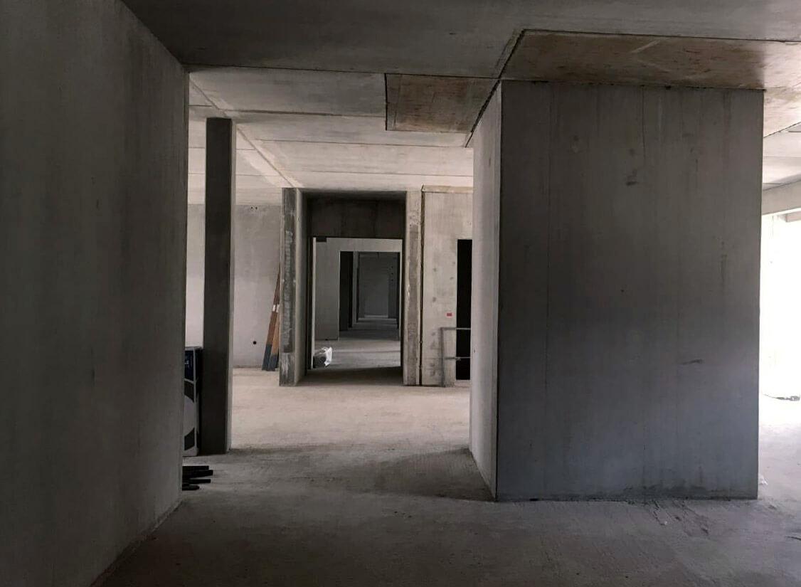 Baufortschritt Pflegezentrum Liebfrauenhaus Juli 2018