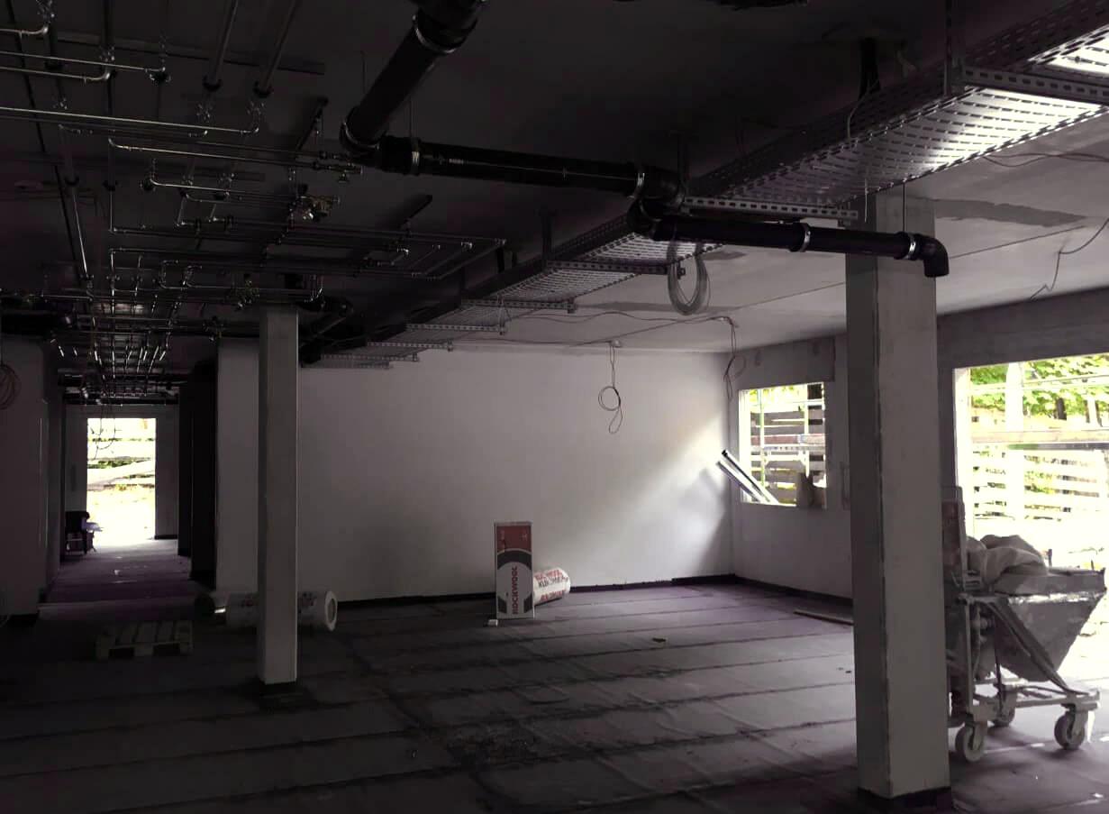 Baufortschritt Pflegezentrum PerlachStift August 2018 1