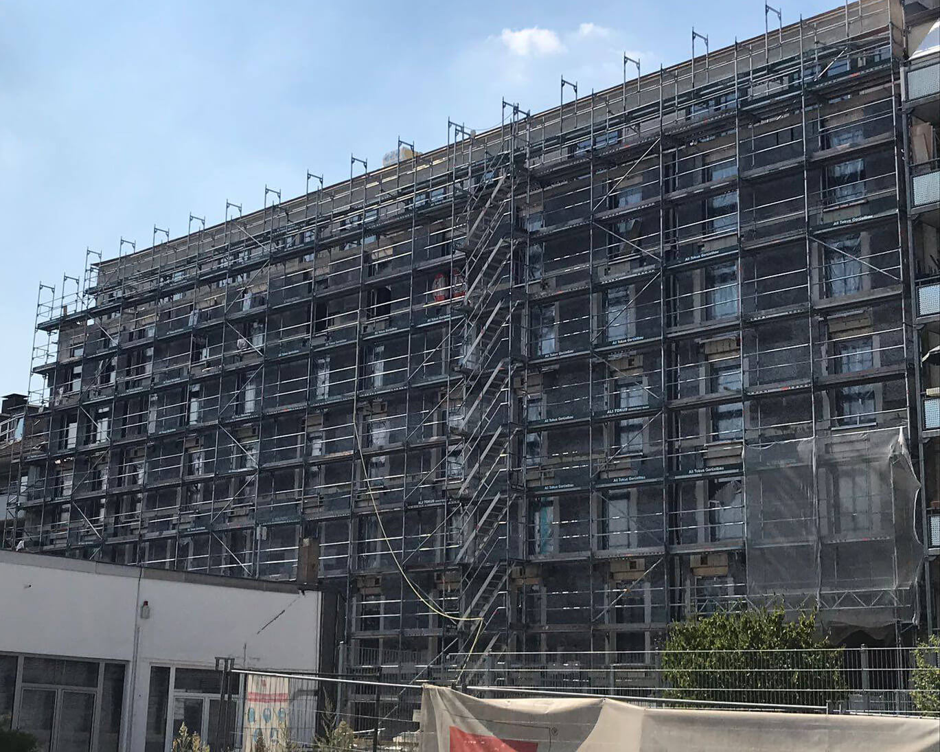 Außenansicht Studentenwohnheim Düsseldorf Mai 2018
