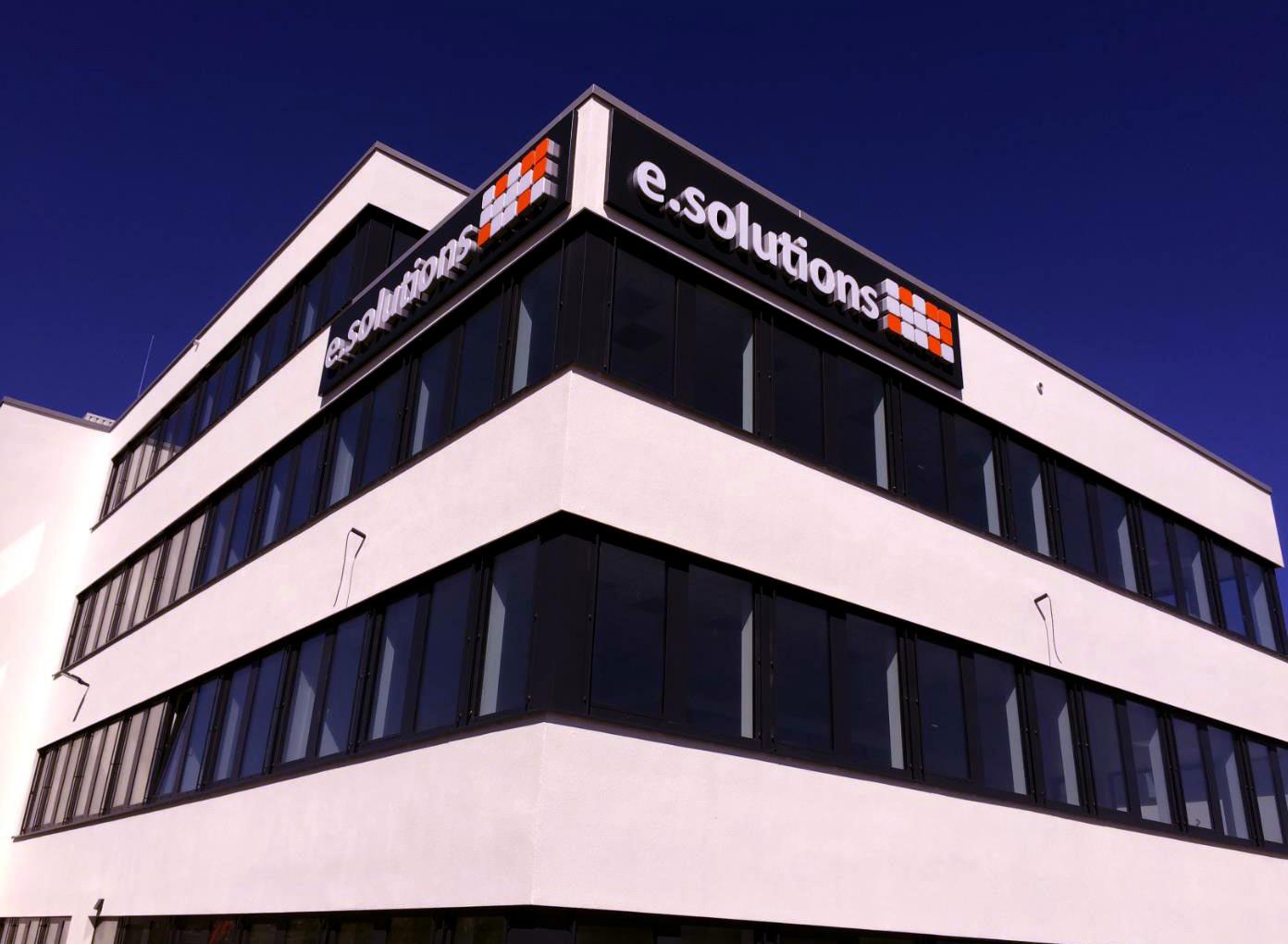Fassade Bürogebäude Erlangen