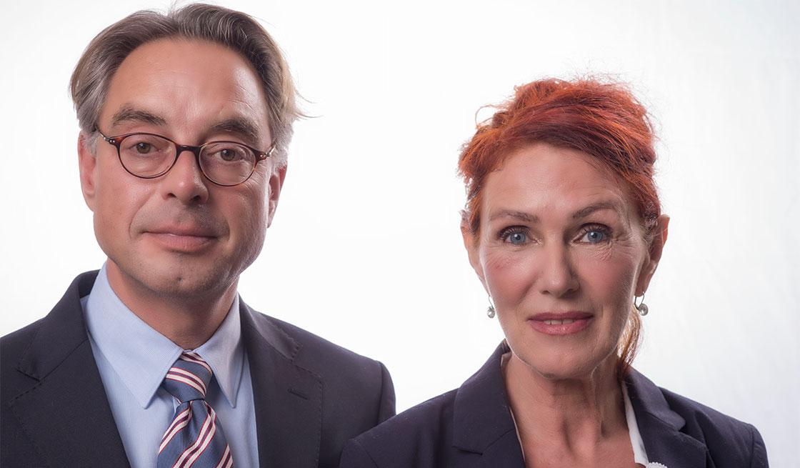 Karsten Stümpel und Barbara Krankenberg
