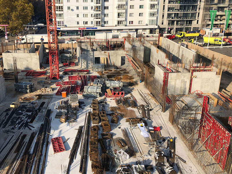 Baustellenübersicht SCHOENEGARTEN