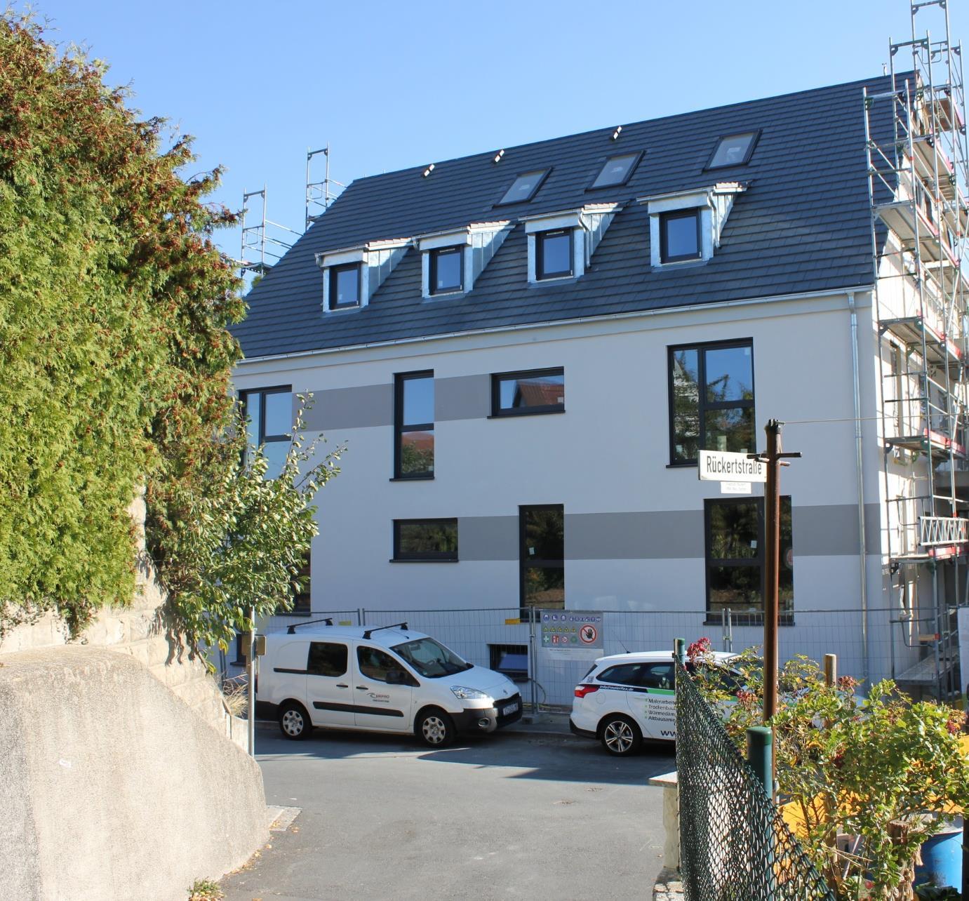 Rohbauten Wohnen in Herzogenaurach Oktober 2018
