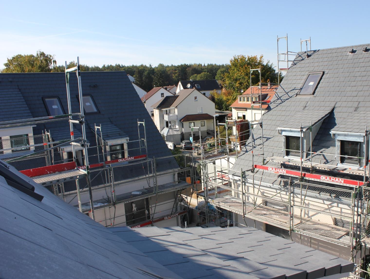 Rohbauten Wohnen in Herzogenaurach Oktober 2018 2