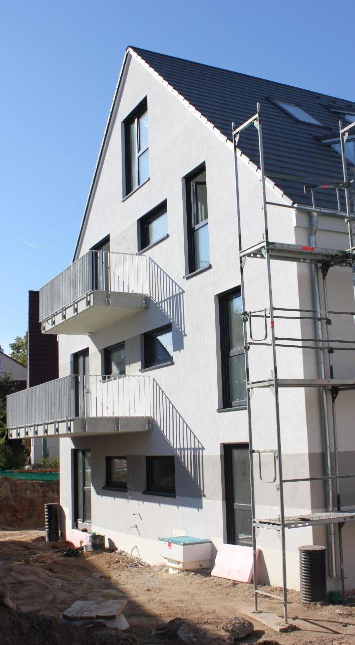 Rohbauten Wohnen in Herzogenaurach Oktober 2018 3