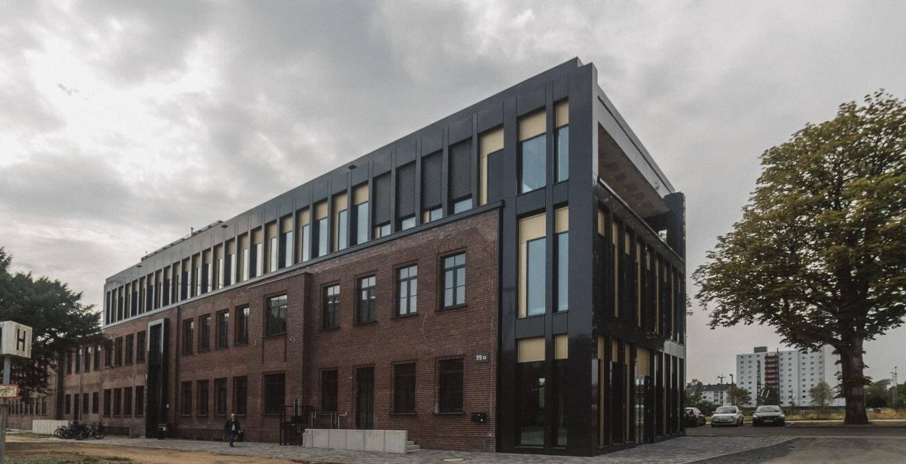 Außenansicht Cube offices 574 Leverkusen