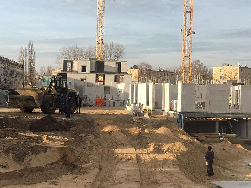 Baustellenbild Wohnen im Märchenviertel November 2018 1