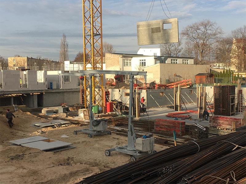 Baustellenbild Wohnen im Märchenviertel November 2018 2