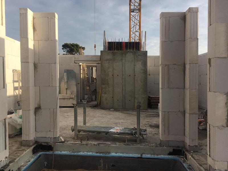 Baustellenbild Wohnen im Märchenviertel November 2018 3
