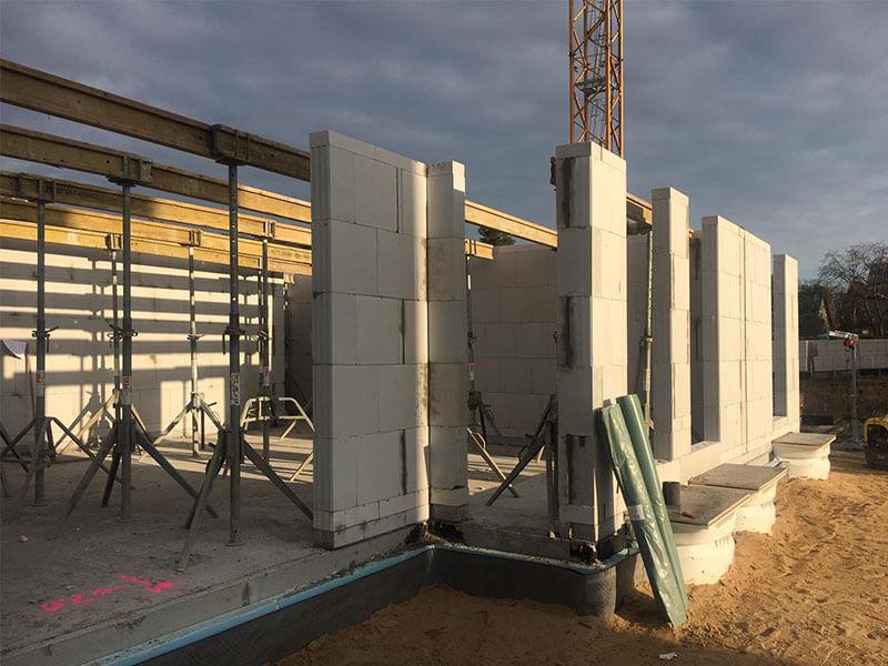 Baustellenbild Wohnen im Märchenviertel November 2018 4