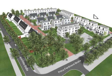 90 Reihen- und Doppelhäuser und Eigentumswohnungen in Willich-Anrath, Jakob-Krebs-Straße