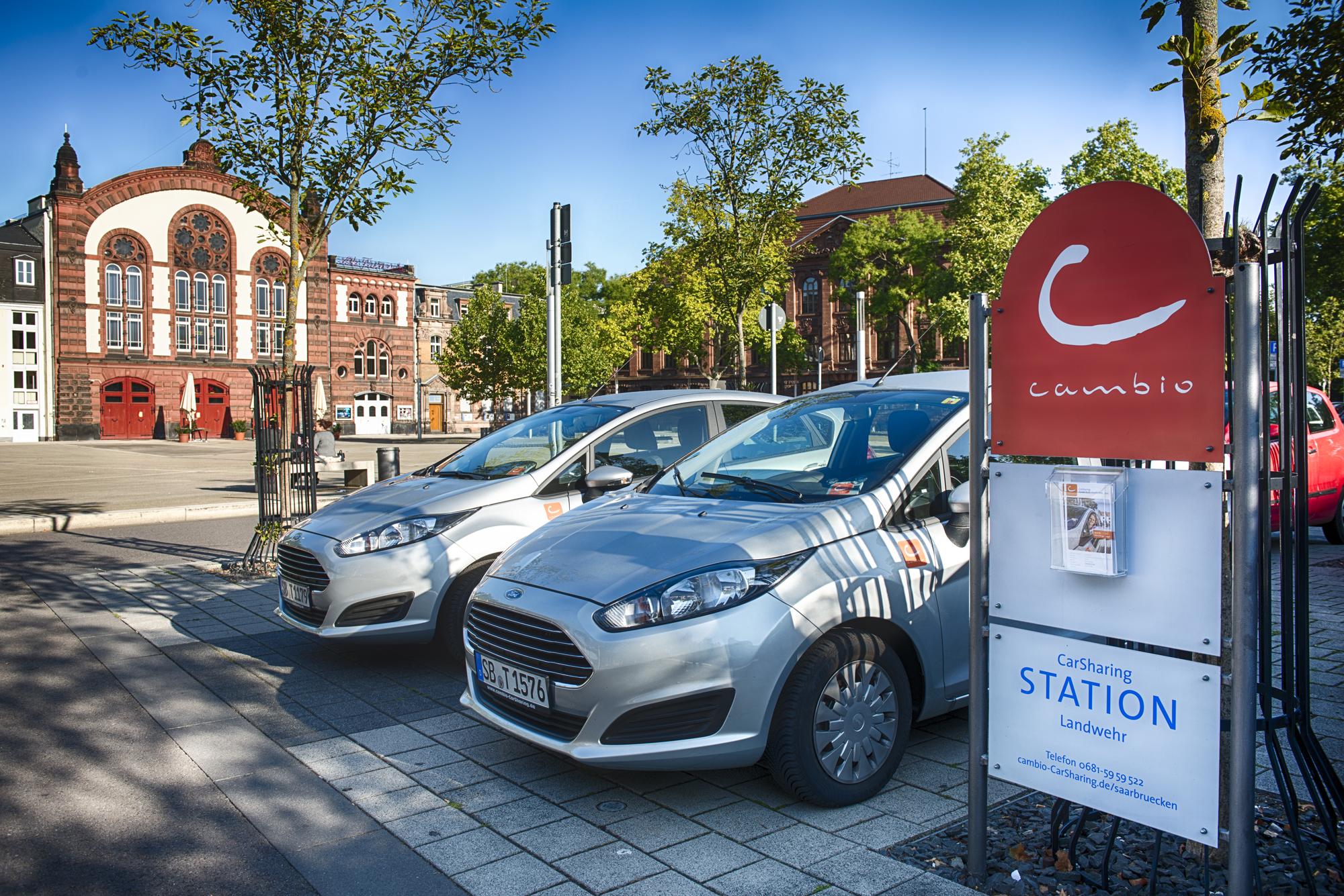 Carsharing-Station Saarbrücken data-verified=