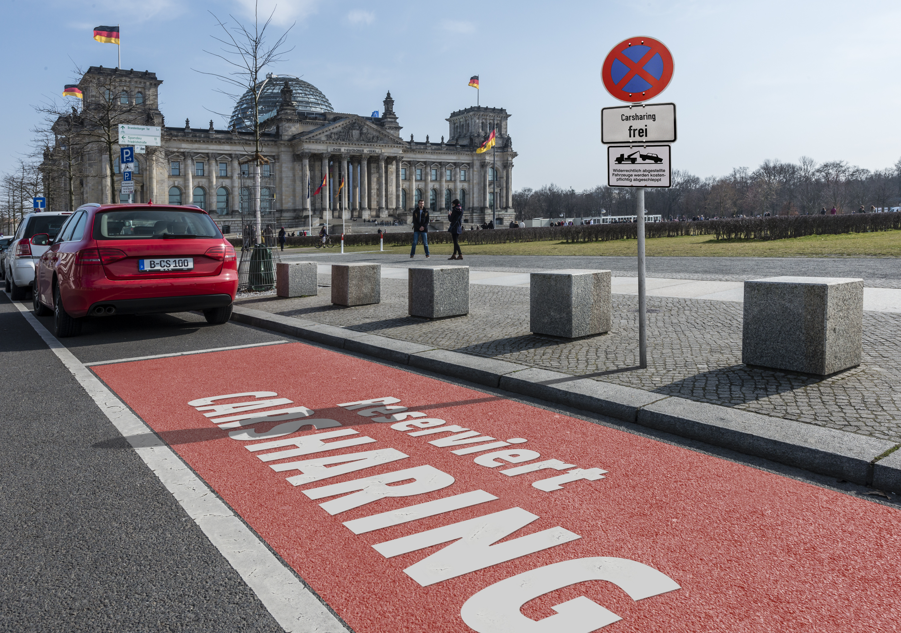 Carsharing-Stellplatz in Berlin