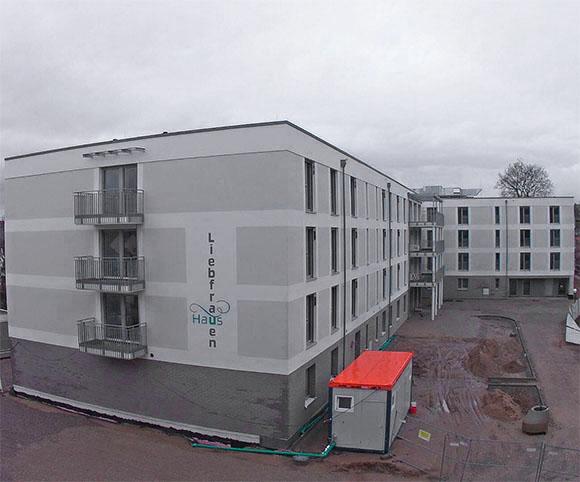 Fassade Pflegezentrum Liebfrauenhaus
