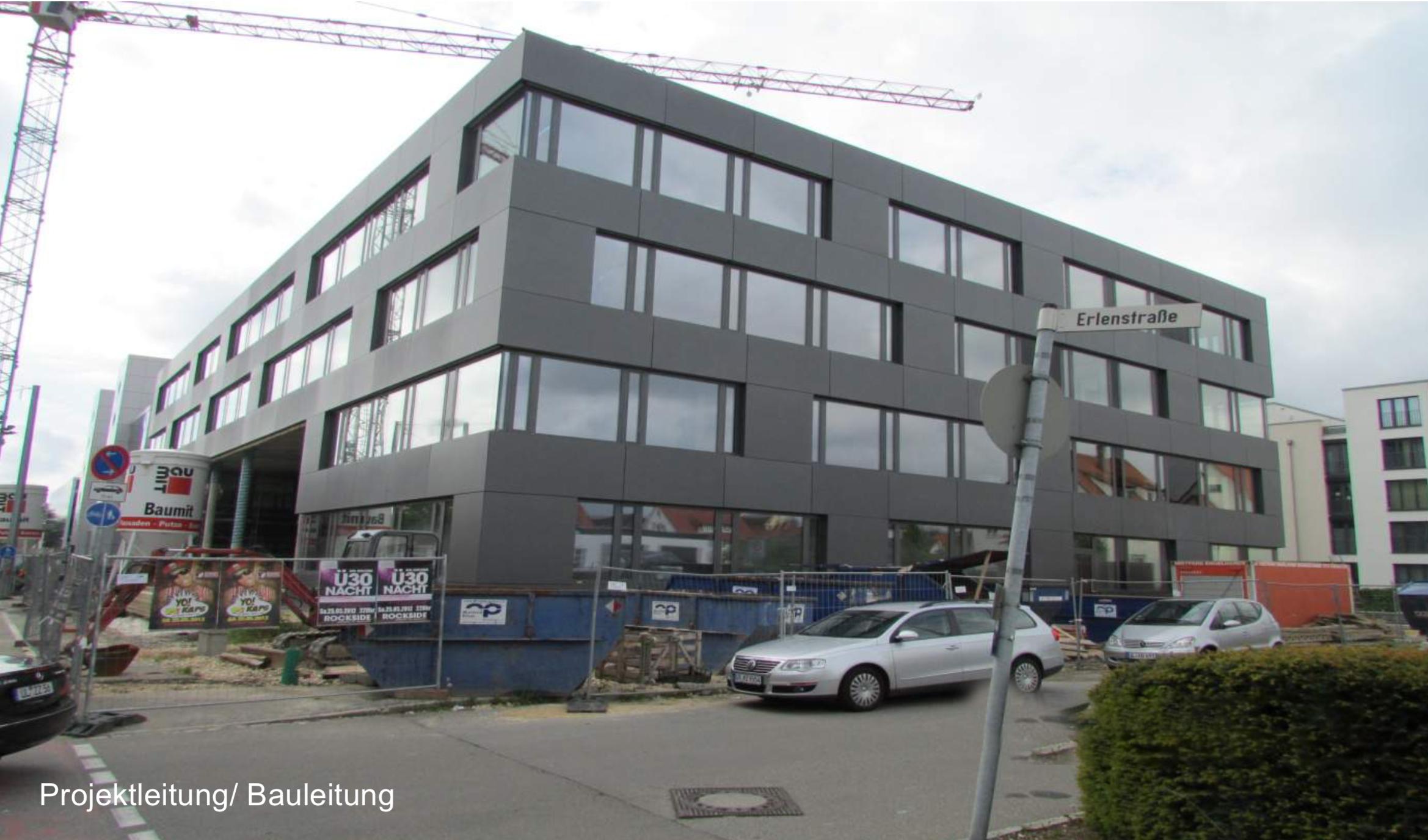 Büroneubau in Ulm