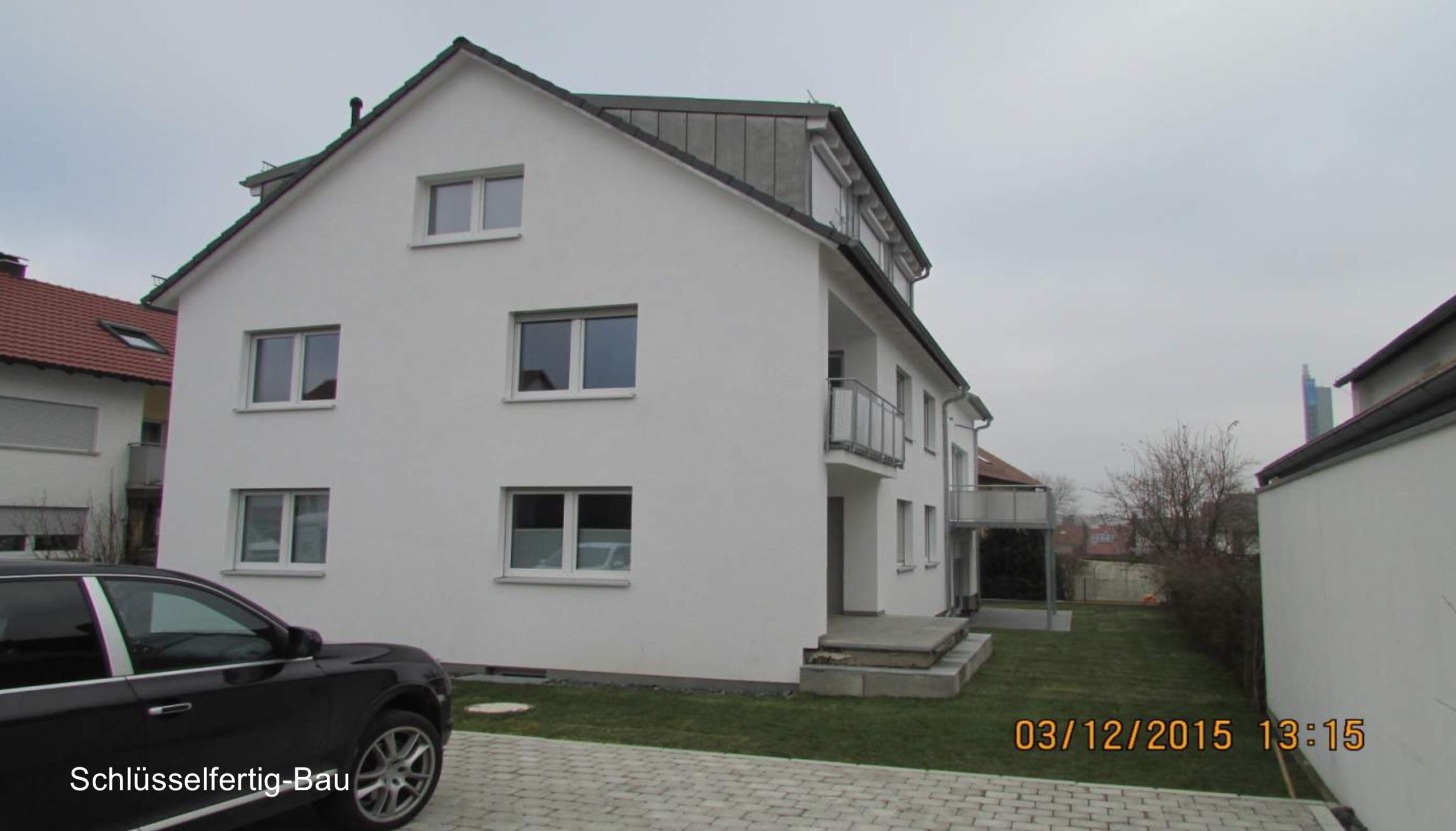 Neubau Familienwohnhaus Ulm