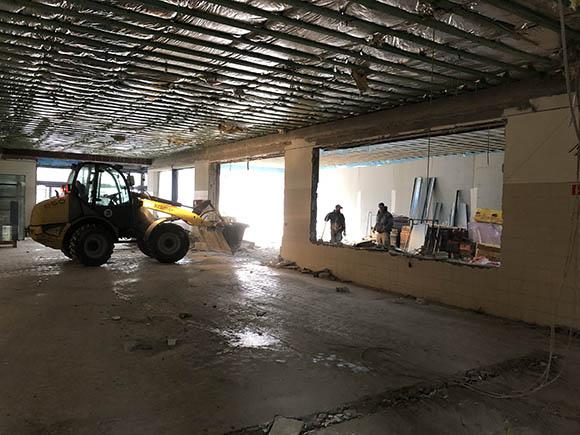 Baustelle Fachmarktzentrum Dannenberg