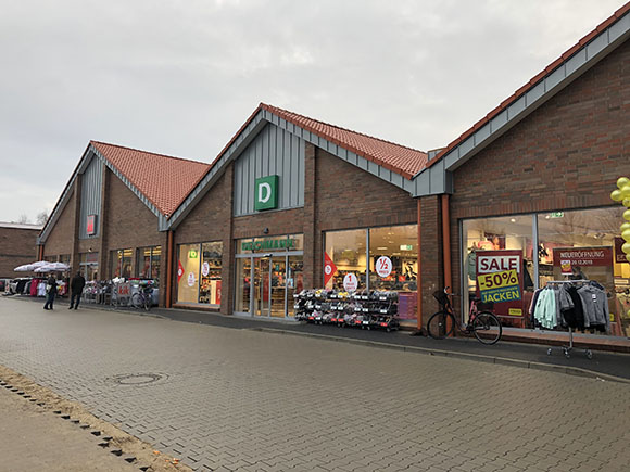 Deichmann im Fachmarktzentrum Dannenberg