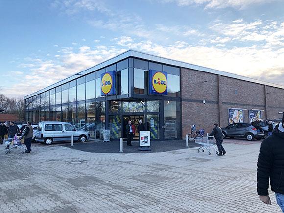 Lidl im Fachmarktzentrum Dannenberg