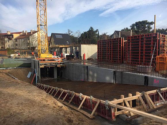 Baustellenbild Wohnen im Märchenviertel März 2019 2