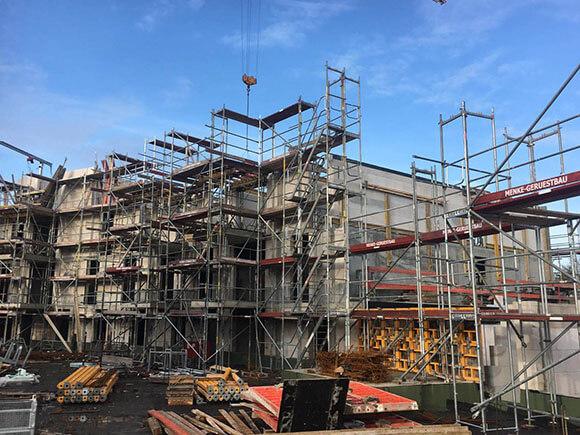 Baustellenbild Wohnen im Märchenviertel März 2019 3