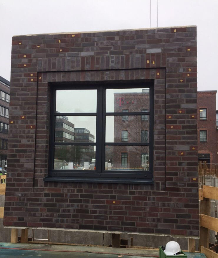 Fassadenelement niu Bricks