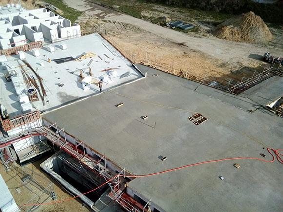 Baustelle Quartier am April 3