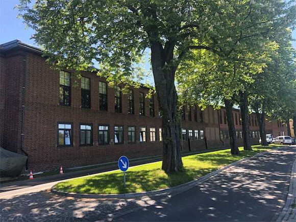 Außenbereich Cube Offices 574