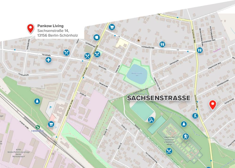Mikrolage Sachsenstraße