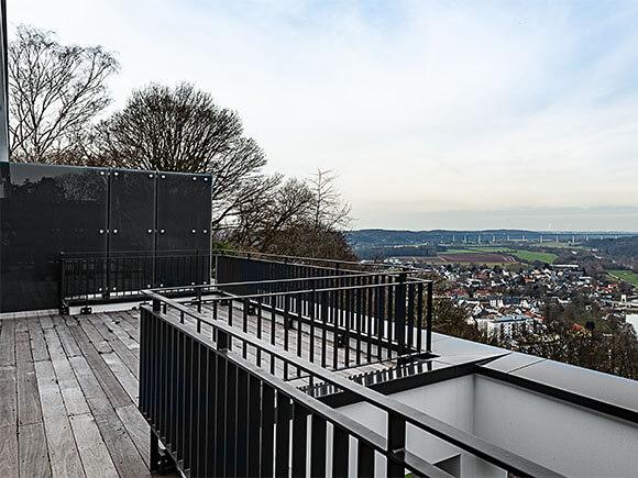 Balkon Seeblick