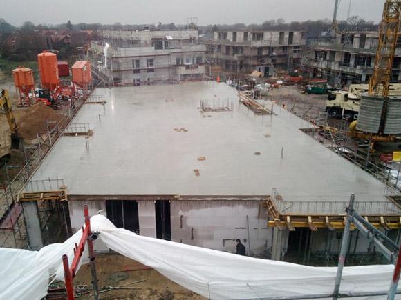 Decke Erstes Obergeschoss Haus 5