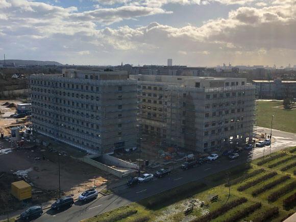 Rohbauten Airport Hotels
